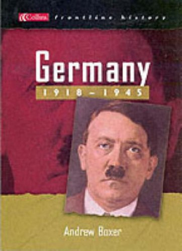 9780007155057: Germany 1918-1945 (Collins Frontline History)