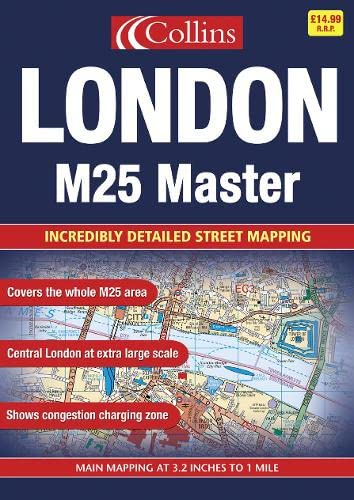 9780007155354: M25 London Master Street Atlas