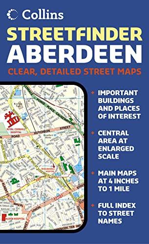 9780007156740: Aberdeen Streetfinder Colour Map Collins