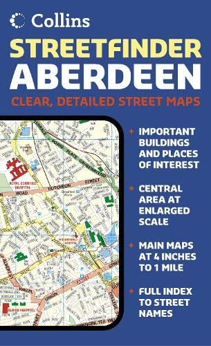 9780007156740: Aberdeen Streetfinder Colour Map Collins