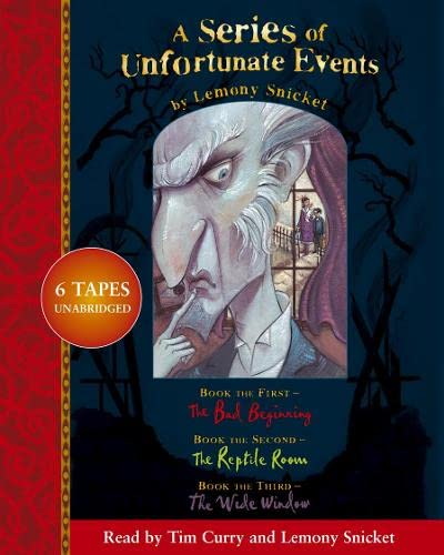 "9780007157365: A Series of Unfortunate Events – Lemony Snicket Gift Pack: 1–3:""A Bad Beginning,The Reptile Room,The Wide Window Nos.1-3"