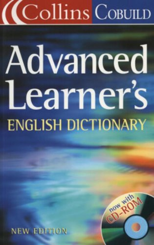 9780007158003: Collins Cobuild - Advanced Learner's English Dictionary and CD-Rom
