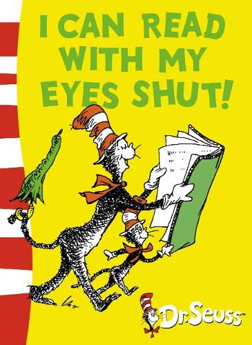 9780007158515: I Can Read With My Eyes Shut: Green Back Book (Dr Seuss - Green Back Book)