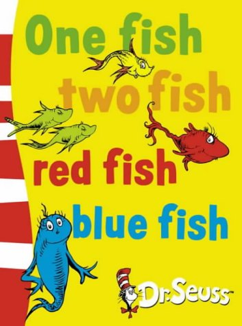 9780007158553: One Fish, Two Fish, Red Fish, Blue Fish (Dr. Seuss Board Books)