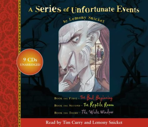 9780007159031: A Series of Unfortunate Events - Lemony Snicket Gift Pack: 1-3: