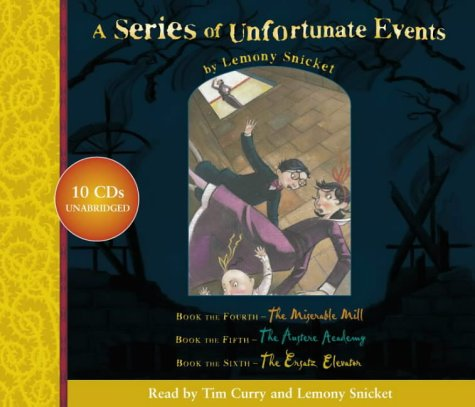 9780007159048: A Series of Unfortunate Events - Lemony Snicket Gift Pack: 4-6: