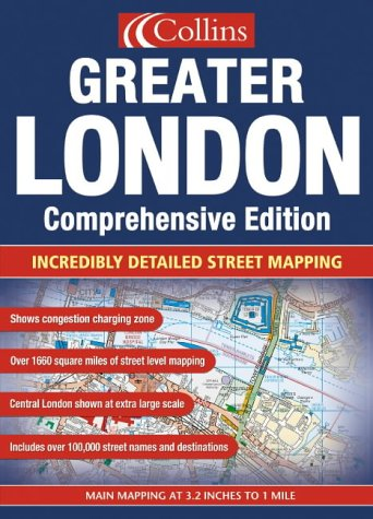 9780007160358: Greater London Street Atlas