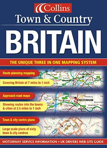 9780007160372: Britain (Town & Country Atlas)