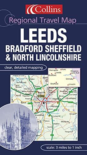 9780007160907: Leeds, Bradford and East Yorkshire (Regional Travel Map)
