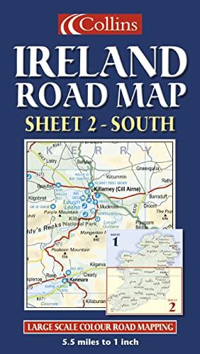 9780007160938: Ireland Road Map: South Sheet 2