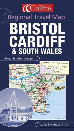 9780007160952: Bristol, Cardiff and South Wales (Regional Travel Map)