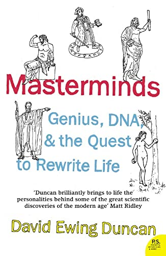 9780007161843: Masterminds: Genius, DNA, and the Quest to Rewrite Life