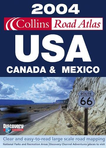 9780007162079: 2004 Collins Road Atlas USA, Canada and Mexico
