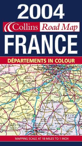 9780007162093: Map of France 2004