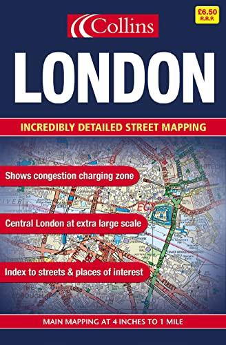9780007162314: London Street Atlas: Large