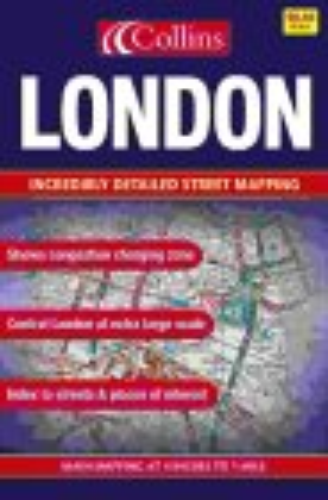 9780007162321: London Street Atlas: Large