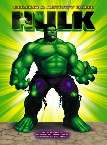 9780007162468: The Hulk - Colour and Activity Book: Colouring and Activity Book