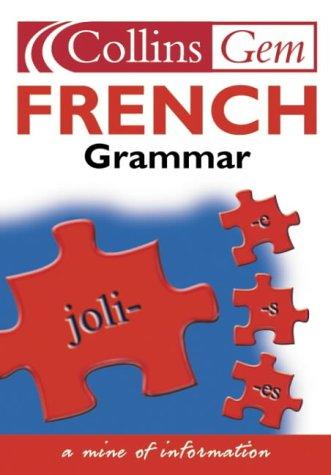 9780007162581: French Grammar (Collins GEM)