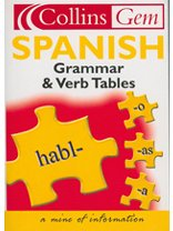 9780007162598: Collins Gem - Spanish Grammar and Verb Tables