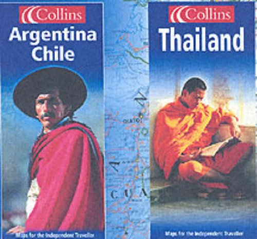 9780007164226: Argentina and Chile Map (Independent Travel Series)