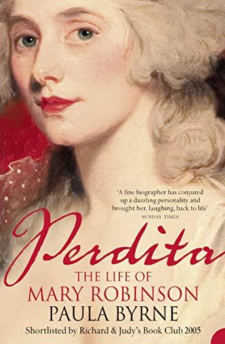 9780007164592: Perdita: The Life of Mary Robinson