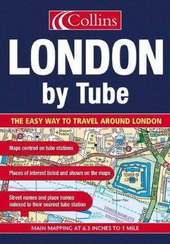 9780007164714: London By Tube (Atlas)