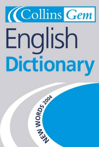 9780007164844: English Dictionary (Collins GEM)