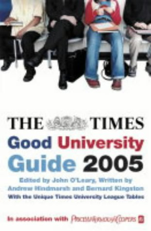 9780007165247: The Times Good University Guide 2005