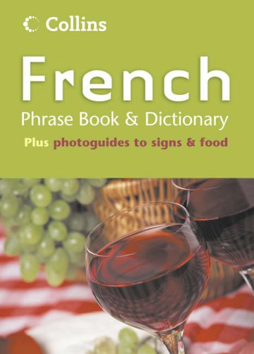 9780007165292: Collins French Phrase Book and Dictionary