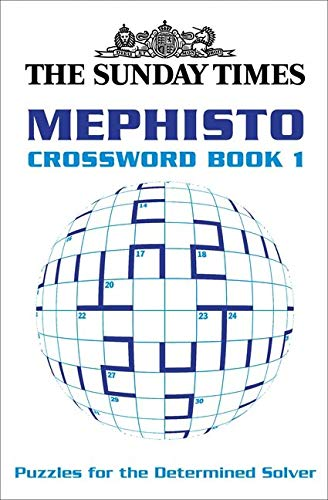 9780007165339: The Sunday Times Mephisto Crossword Book 1: Bk. 1