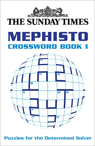 9780007165339: The Sunday Times Mephisto Crossword: Book 1 (Bk. 1)