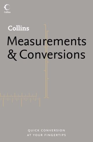 9780007165513: Measurements and Conversions (Collins Dictionary of)