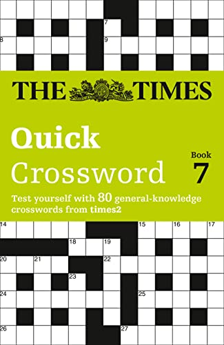 9780007165544: The Times T2 Crossword Book 7 (Bk.7)