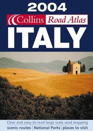 9780007165612: 2004 Collins Road Atlas Italy