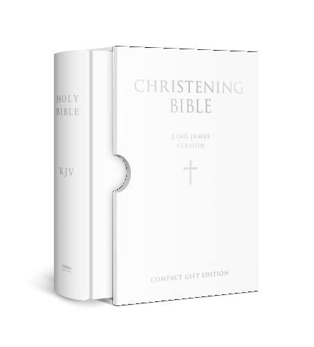 9780007166336: HOLY BIBLE: King James Version (KJV) White Compact Christening Edition (Bible Akjv)