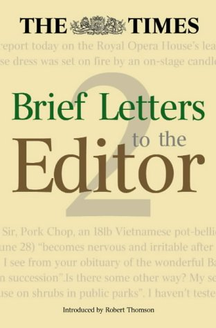 9780007166473: 'The Times' Brief Letters to the Editor 2: Bk.2
