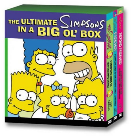9780007166718: The Ultimate Simpsons in a Big Ol' Box: A Complete Guide to Our Favourite Family Seasons 1-12