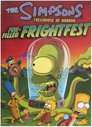 9780007166725: 'The Simpsons Treehouse of Horror: Fun-filled Frightfest'