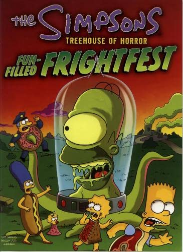 9780007166725: Bart Simpson's Treehouse of Horror Fun-Filled Frightfest