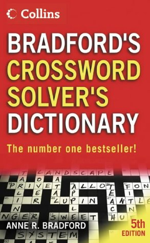 9780007169221: Collins Bradford?s Crossword Solver?s Dictionary