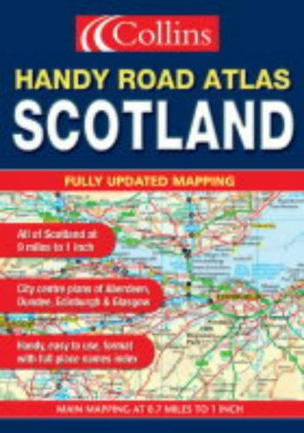 9780007169542: Handy Road Atlas Scotland