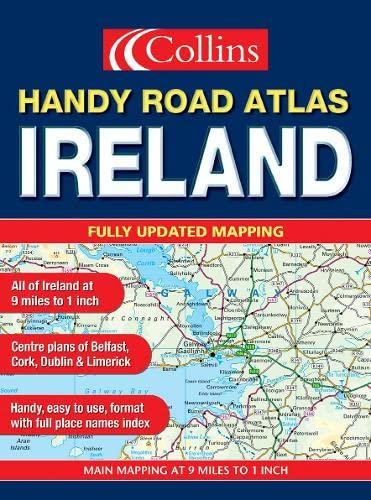 9780007169559: Handy Road Atlas Ireland