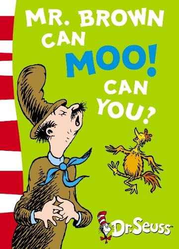 9780007169917: Mr. Brown Can Moo! Can You?: Blue Back Book (Dr Seuss - Blue Back Book) (Dr. Seuss Blue Back Books)