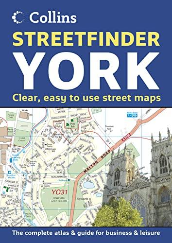 9780007170029: York Streetfinder Atlas
