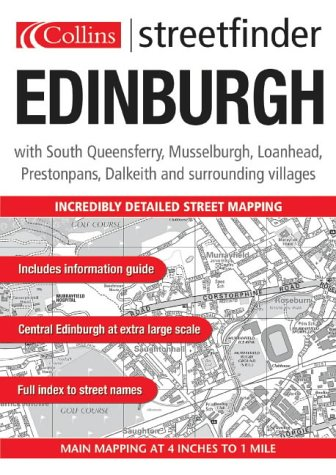 9780007170036: Edinburgh Streetfinder Atlas