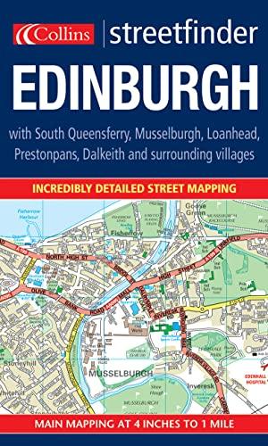 9780007170050: Edinburgh Colour Streetfinder Map