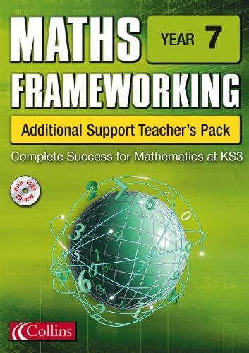 9780007170159: Maths Frameworking - Year 7 Additional Support Teacher's Pack