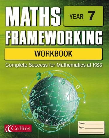 9780007170197: Maths Frameworking - Year 7 Workbook
