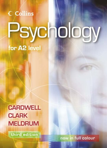 9780007170425: Psychology - Psychology for A2 Level