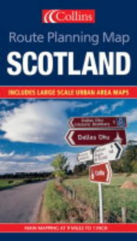 9780007171002: Route Planning Map - Scotland